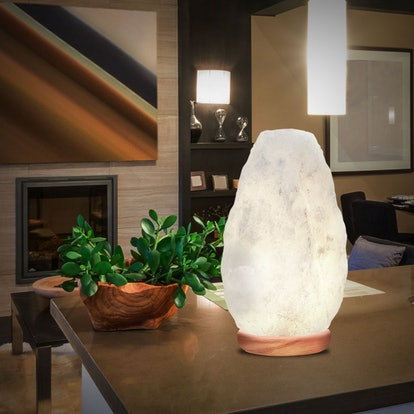 WBM Himalayan White Salt Lamp