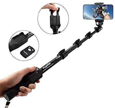 """Fugetek 49"""" Selfie Stick Monopod Professional High End FT-568"""
