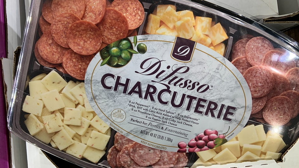 DiLusso Charcuterie from Costco