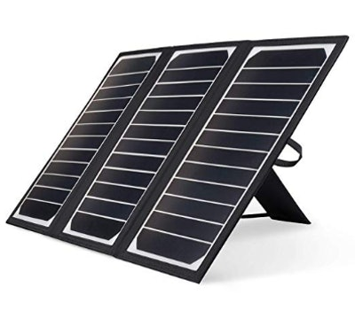 Kingsolar Solar Charger 21W Portable Solar Panel Charger with 2 USB Ports