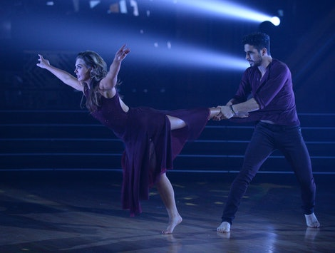 Hannah Brown and Alan Bersten in Week 10 of DWTS.