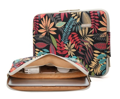 KAYOND Canvas Water-Resistant Laptop Sleeve