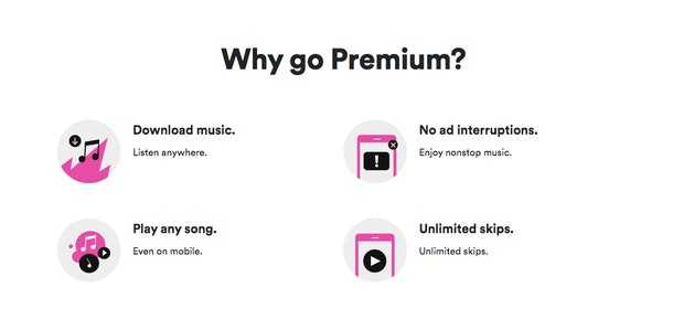 Spotify's Holiday 2019 Premium Deal