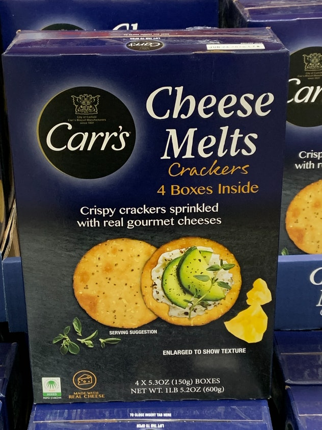 Carr's Cheese Melts from costco
