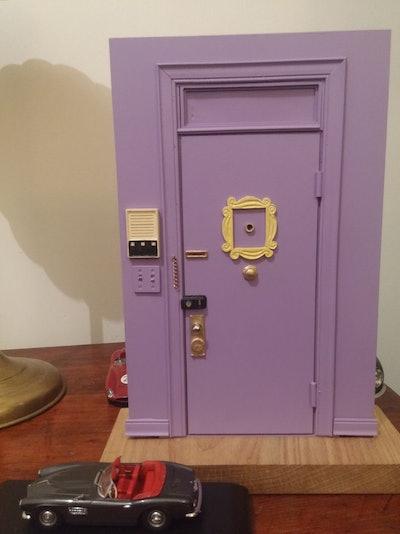 Monica's Apartament Door Miniature