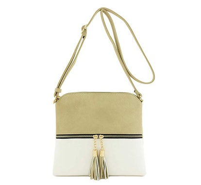 DELUXITY Crossbody Bag with Tassel