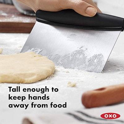 OXO Good Grips Multi-purpose Stainless Steel Scraper & Chopper