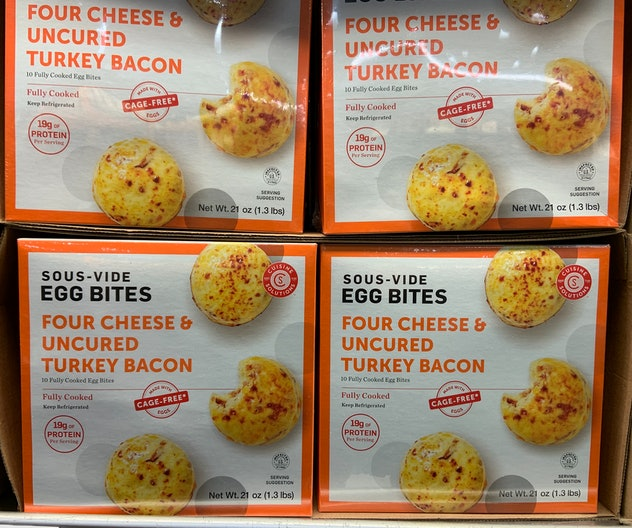 Sous-Vide Egg Bites from costco
