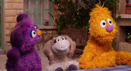 "The company behind ""Sesame Street"" has launched a new show in Arabic to aid refugee children."