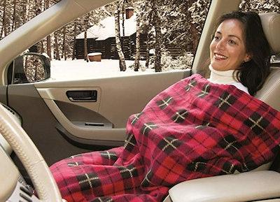 Car Cozy 2 Heated Travel Blanket