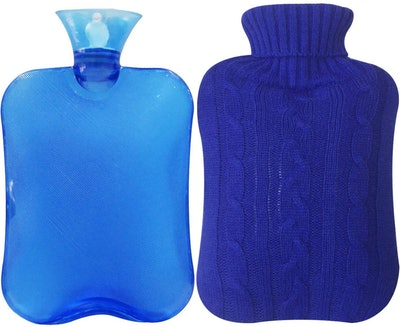Attmu Classic Hot Water Bottle With Knit Cover
