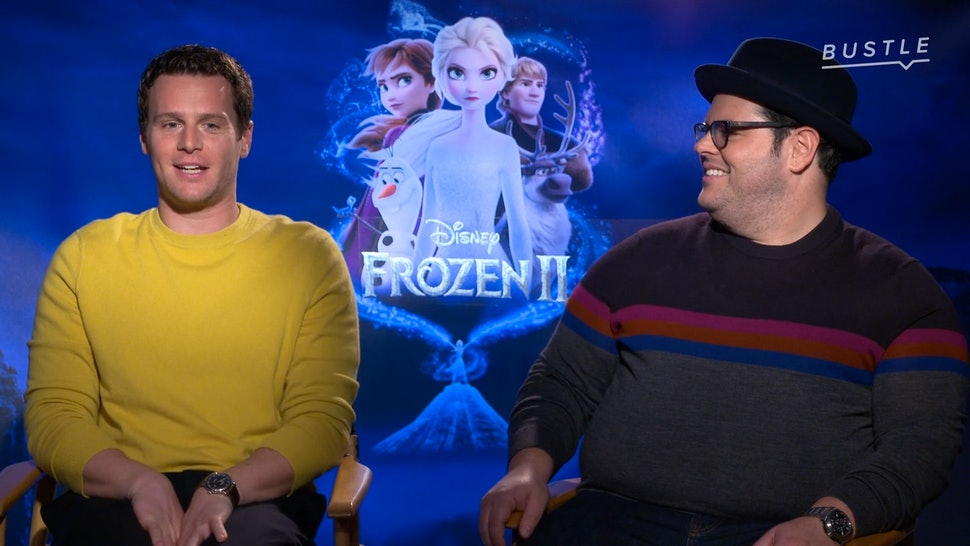 Frozen 2 stars Josh Gad and Jonathan Groff.