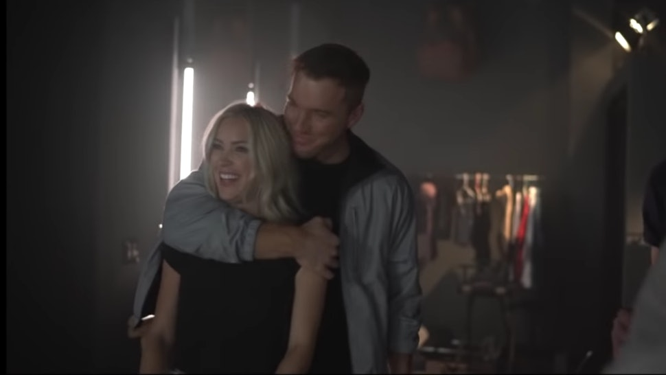 "Cassie Randolph and Colton Underwood starred in Adam Doleac's video for ""Famous"""