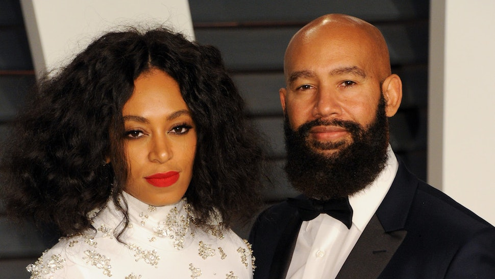 Solange announced her split from husband Alan Ferguson