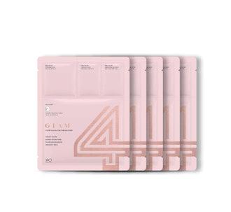 4GLAM SHEET MASK - 5 Pack