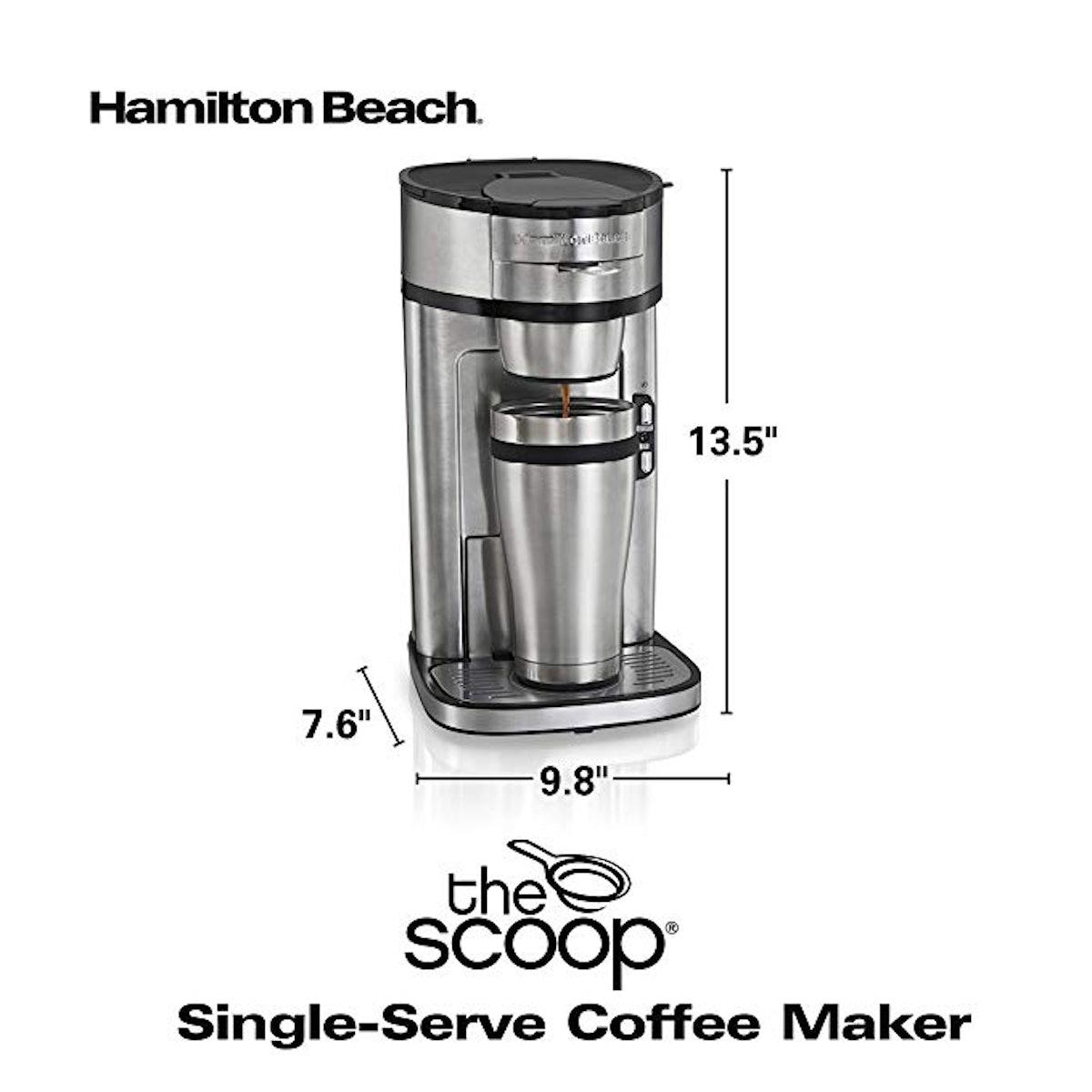 Hamilton Beach Scoop Single Serve Coffee Maker