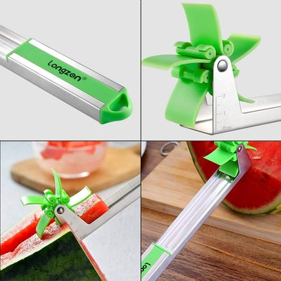 Longzon Watermelon Windmill Cutter (2-pack)