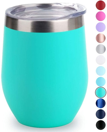 SUNWILL Vacuum Insulated Wine Tumbler