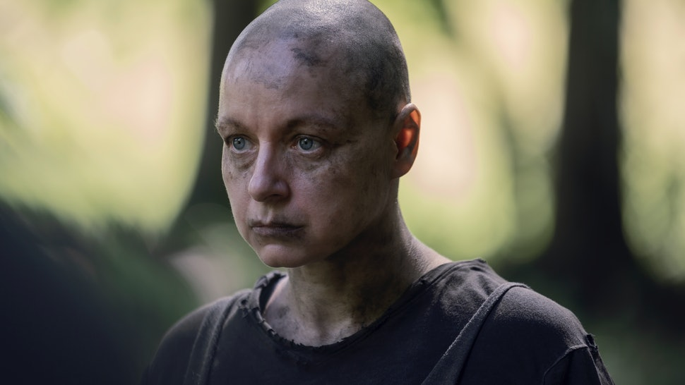 Alpha prepares to make her move on The Walking Dead Season 10.