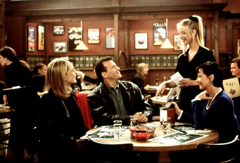 Lisa Kudrow playing Ursula in Mad About You.