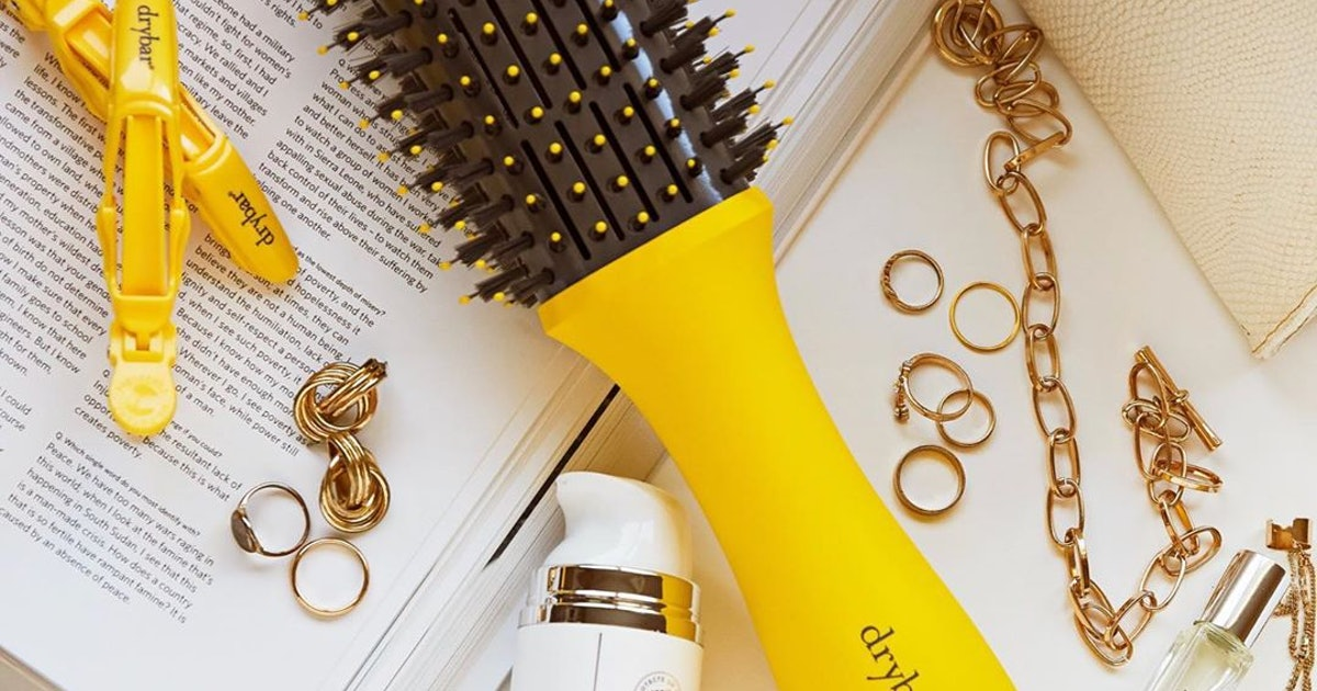 Drybar's New Double Shot Blow-Dryer Brush Is As Clever As It Looks