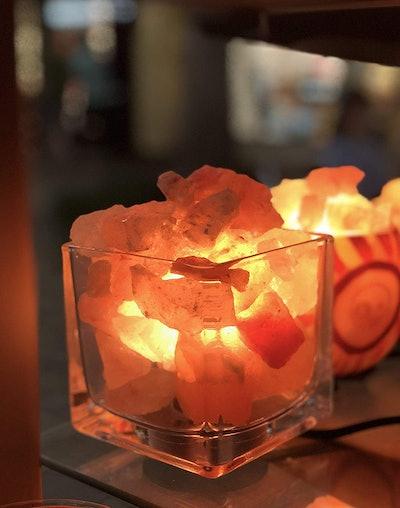 Himalayan CrystalLitez Salt Lamp With Dimmer Cord