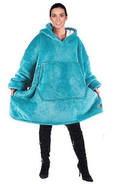 Catalonia Oversized Hoodie Blanket Sweatshirt