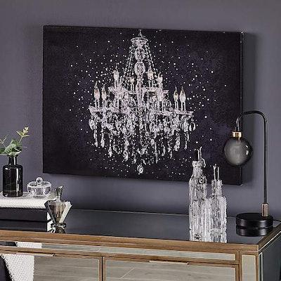 Diamante Chandelier Canvas