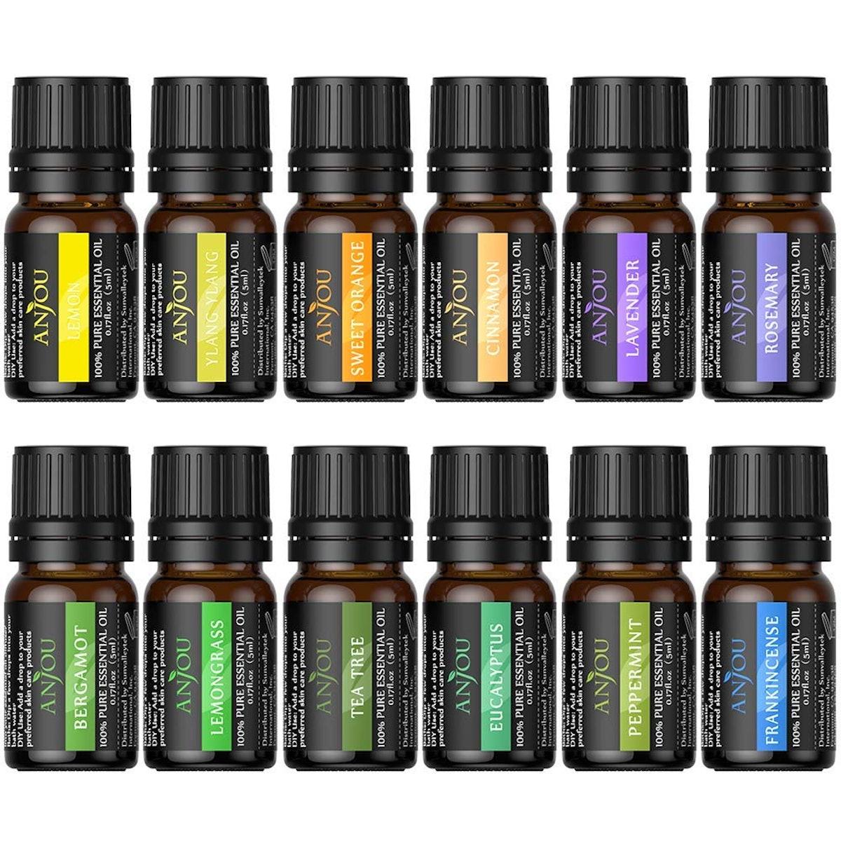 Anjou Essential Oils Set (12-Pack)