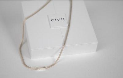 Short Saphir Necklace