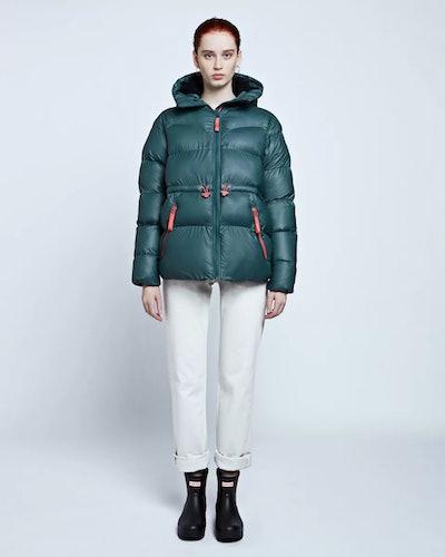 Women's Original A-Line Puffer Jacket: Dark Teal