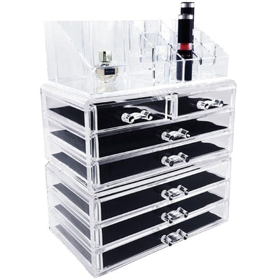 Ikee Design Acrylic Cosmetic Storage Boxes (3 Piece Set)
