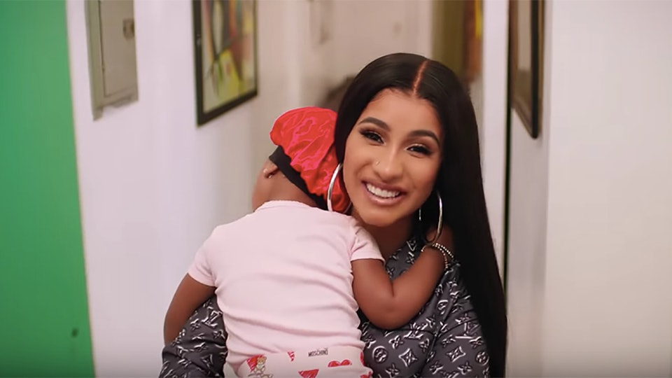 "Cardi B talked about motherhood for 'Vogue's 73 ""Questions""."