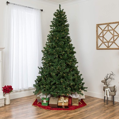 Best Choice Products Pre-Lit Spruce Artificial Christmas Tree