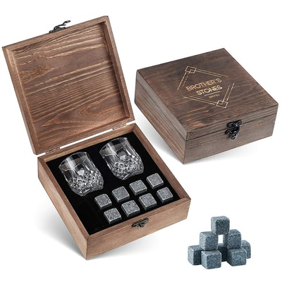 Whiskey Stones Gift Set by BROTEC