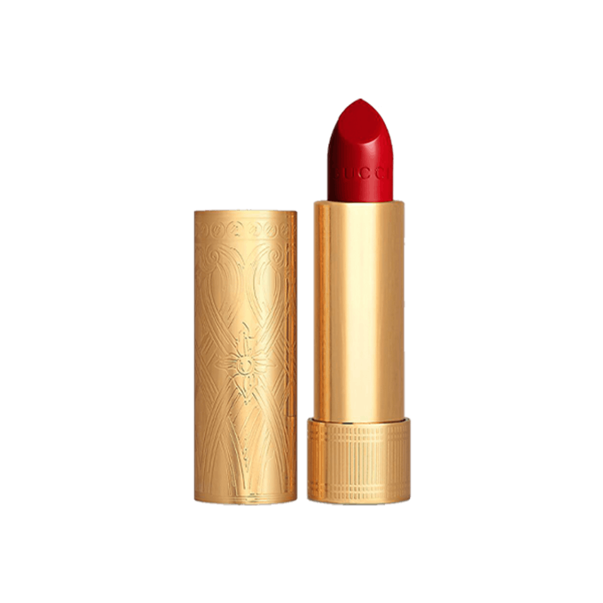 Rouge à Lèvres Satin Lipstick in Goldie Red