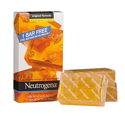 Neutrogena Transparent Bar Soap (6-Pack)