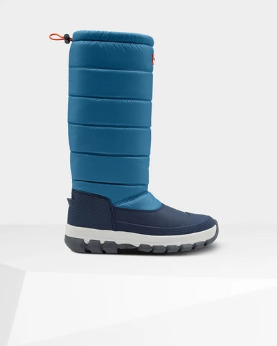 Women's Original Insulated Tall Snow Boots: Magnetic Blue