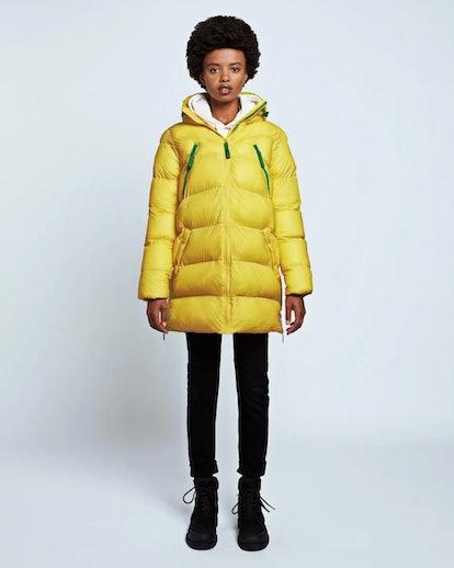 Women's Original Puffer Jacket: Lightening Yellow