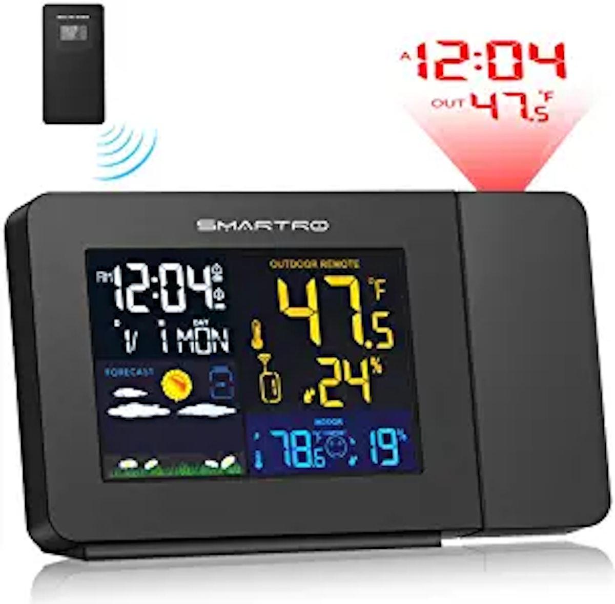 SMARTRO Projection Alarm Clock