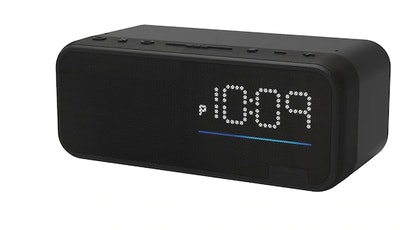 iHome Voice Bedside Clock System with Alexa Built-In Far Field Voice Control Service