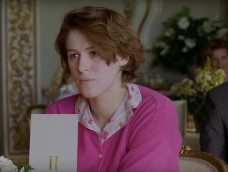 Honor Swinton Byrne as Julie in 'The Souvenir'