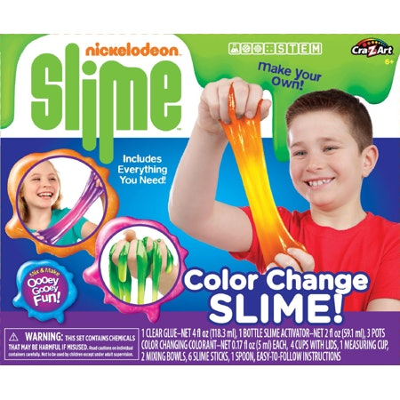 Nickelodeon Color Change Slime Kit