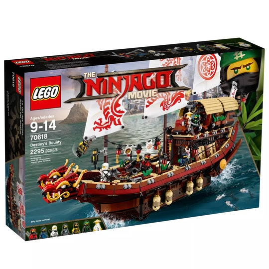 Lego Ninjago Movie Pirate Ship Set