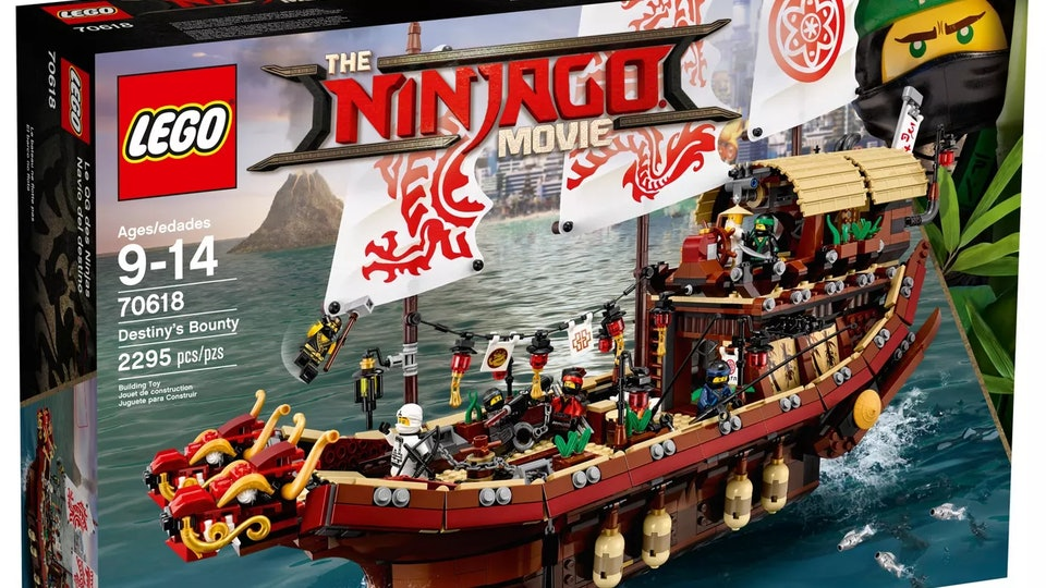 Lego Ninjago Movie Pirate Ship Set