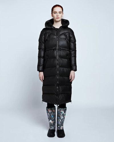 Women's Original Long Puffer Coat: Black