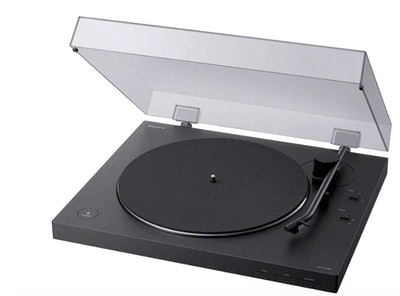 Sony - Bluetooth Stereo Turntable - Black