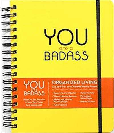 You Are a Badass Planning Calendar