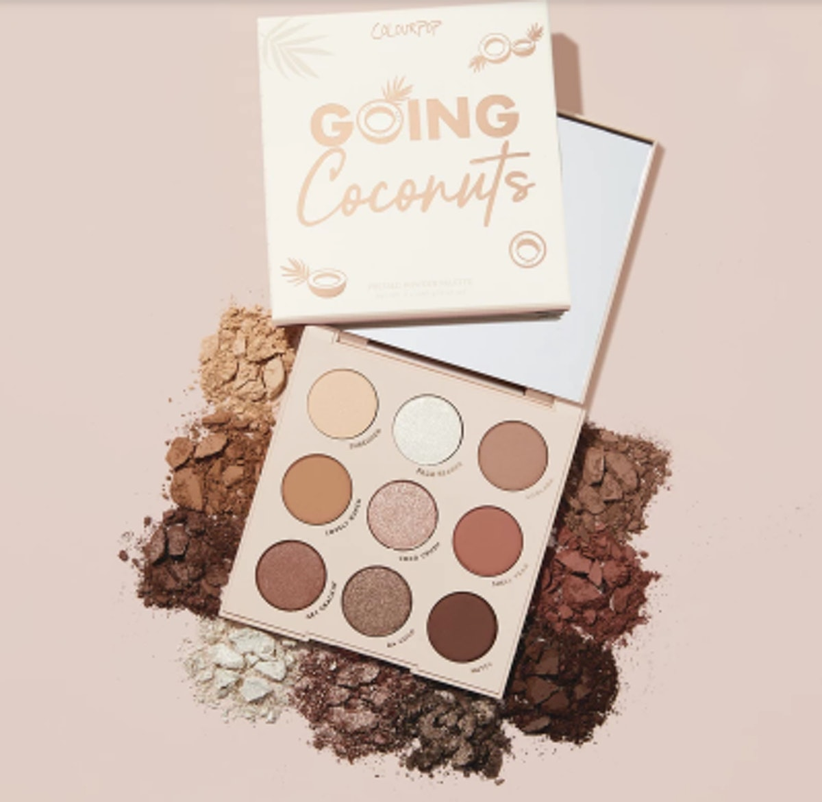 Going Coconuts Shadow Palette