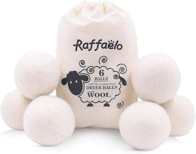 Raffaelo Wool Dryer Balls (Set of 6)